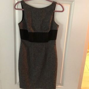 Business casual black and grey Bebe dress